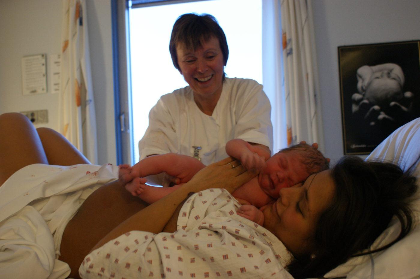 gravid for første gang