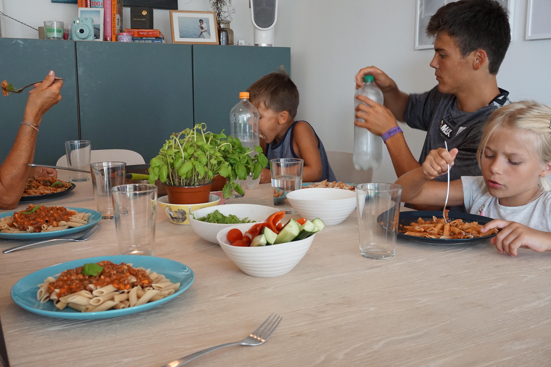middag for familien
